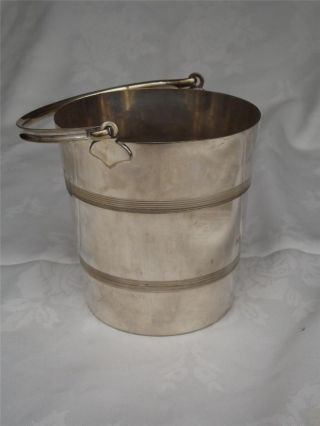 Silver Plated Ice Bucket - Kingsway - Wine Cooler photo