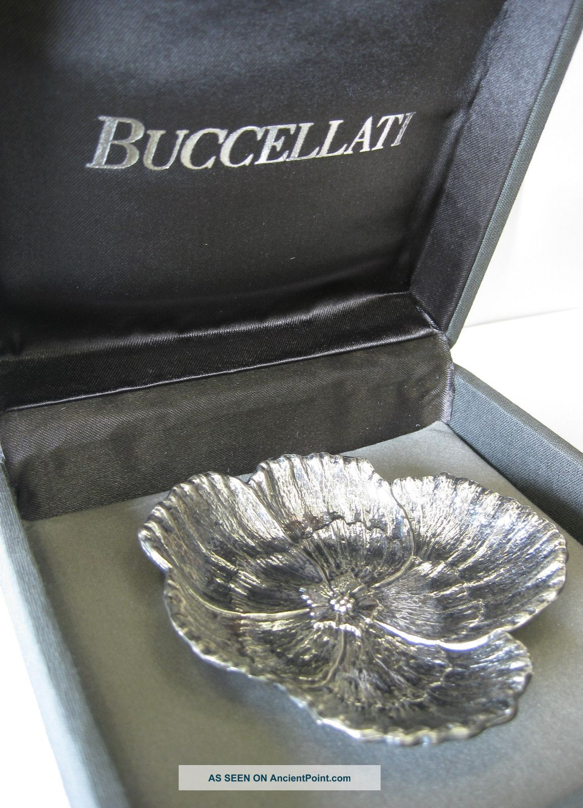 Buccellati Sterling Silver Flower Dish 1 Dishes & Coasters photo