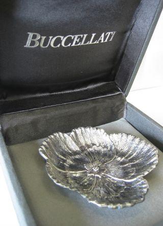 Buccellati Sterling Silver Flower Dish 1 photo