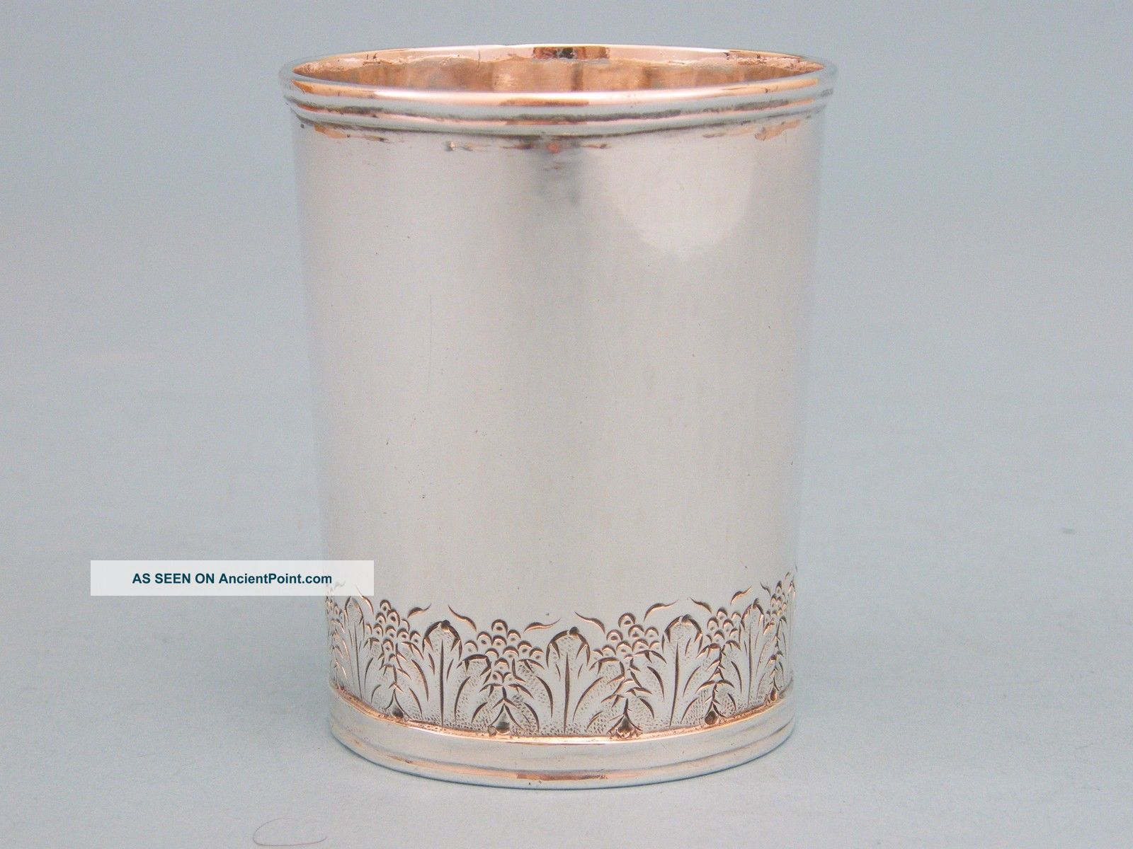 Early Baltimore Coin Silver Mint Julep Cup Coin Silver (.900) photo