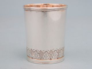 Early Baltimore Coin Silver Mint Julep Cup photo