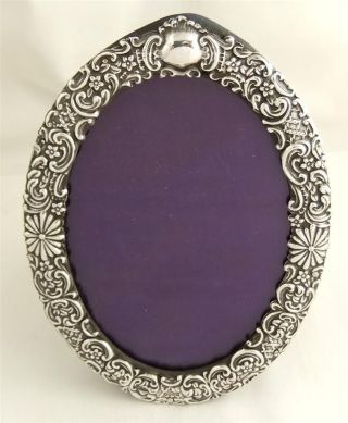 Antique Hallmarked Sterling Silver Photo Frame - 1901 photo