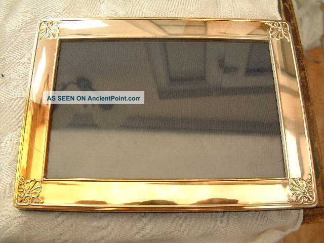 Lovely Large Carrs Of Sheffield Silver Hallmarked Photo Photograph Picture Frame Frames photo