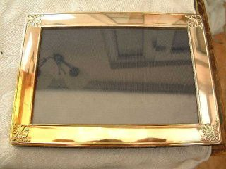 Lovely Large Carrs Of Sheffield Silver Hallmarked Photo Photograph Picture Frame photo