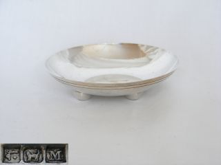 Egyptian,  Solid Silver Pin Dish – Pre 1940 photo