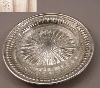 Hallmarked Sterling Butter Dish - 58g - 2.  0 Oz photo