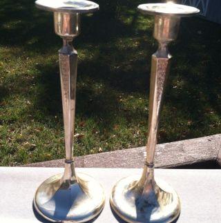 Pair Of Vintage - Sterling Silver 8 3/4
