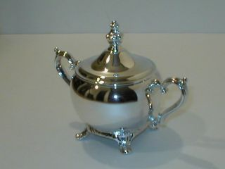 Wm.  Rogers,  Silver - Plate,  Sugar Bowl 803 photo