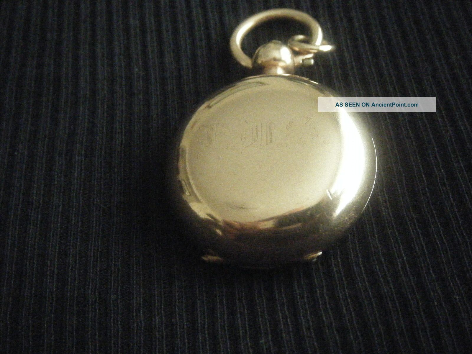 Antique Rolled Gold Sovereign Case. Pocket Watches/ Chains/ Fobs photo