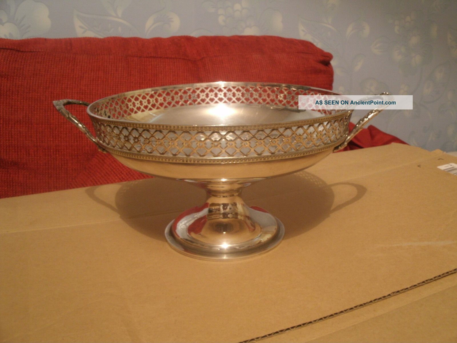 Walker & Hall Pedestal Bowl Circa.  1890 - Early 1900s Other photo