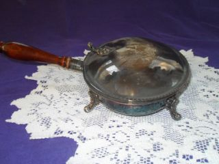 Vintage Mayor Ab Adversis Silverplate Silent Butler Crumber Ash Tray F B Rogers photo