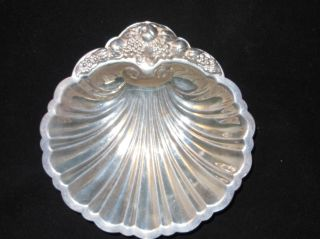 W & Sb / Blackinton Silver Co.  Epc Silver Plated Shell Dish Vintage photo