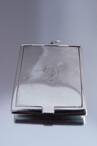 Fine Antique Silver Matchbox photo