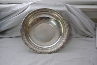 Lovely International Sterling D279 Round Bowl,  Prelude Pattern photo