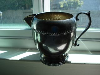 Regent Silver Plate Water Pitcher photo
