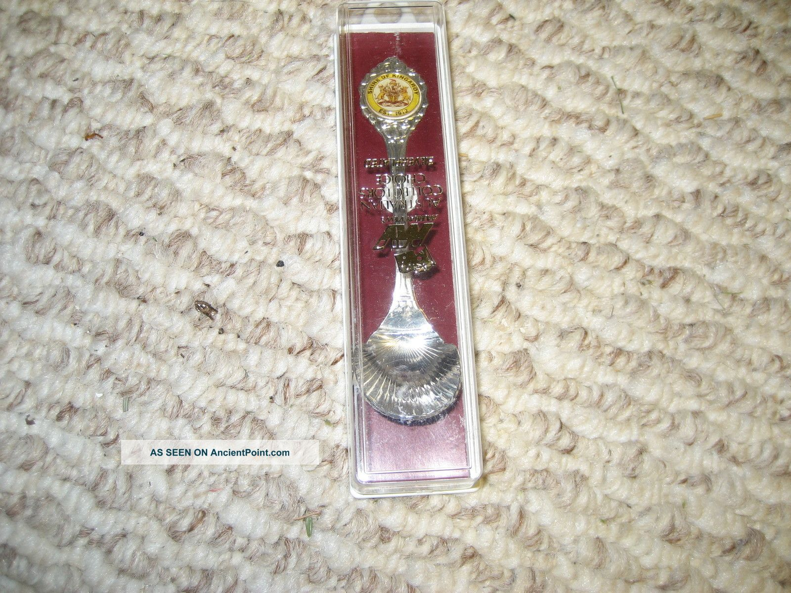 Austrailian Collectors Choice Siver Plated Boxed Spoon Souvenir Spoons photo