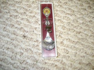 Austrailian Collectors Choice Siver Plated Boxed Spoon photo