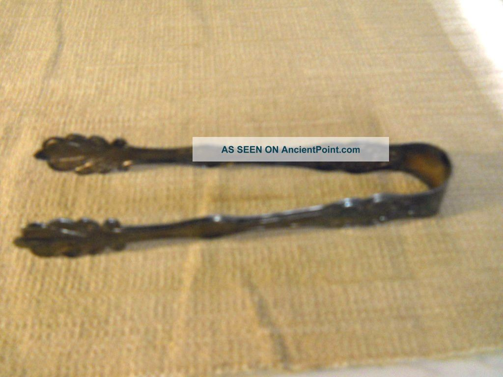 Sheridan Silver Plated Ice Tongs Other photo
