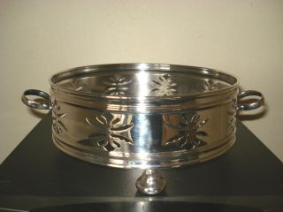 Lovely Silver Plated Dish/plate Stand photo