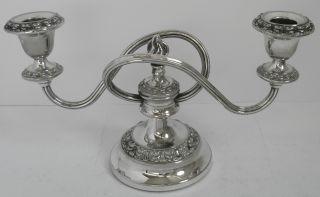 Silver Plated Candelabra Candle Sticks Candle Holder Ianthe England photo