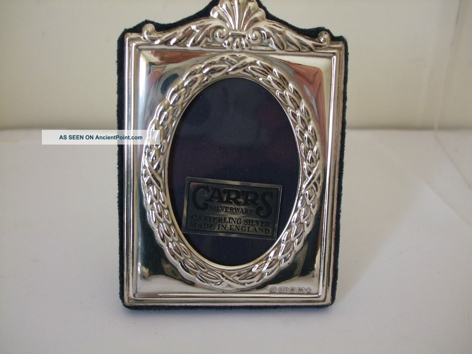 Elegant Design Silver Photo Frame By Carrs Millennium Hallmark 2000 - Collectable Frames photo