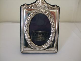 Elegant Design Silver Photo Frame By Carrs Millennium Hallmark 2000 - Collectable photo