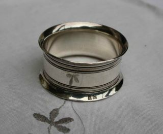 Vintage Frenchsilver Napkin Ring photo