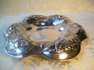 Rare Victorian Silverplate Candy/cookie Dish American Soda Fountain Co Iris Fab photo