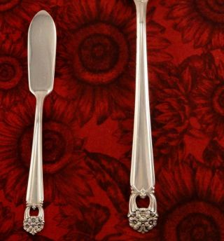 1847 Rogers Eternally Yours Master Butter Knife Vintage 1941 Silver Plate photo
