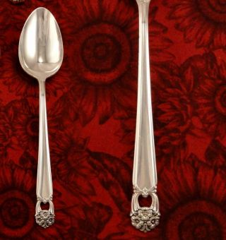 1847 Rogers Eternally Yours Serving Tablespoon Vintage 1941 Silver Plate photo