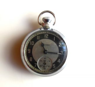 Vintage Ingersoll Pocket Watch - Working photo