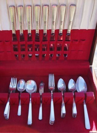 Rogers 1881 Silverplate Oneida Flatware 5 Pc Settings For 8 Eight photo