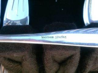 Sterling Silver Flatware Set - Heirloom photo