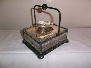 Sardine Dish Box Made By Barker Brothers Silver Plated photo