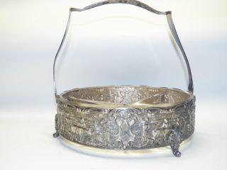 Vintage Holland Ware Silver Plate Relish Serving Dish photo