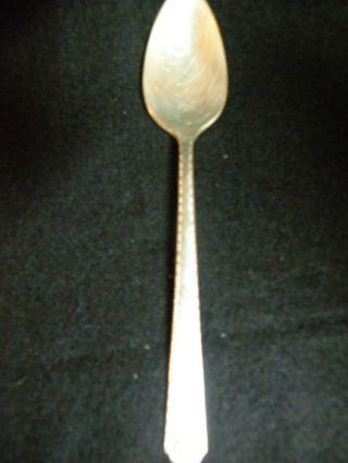 1 Tea Spoon - - Prestige Plate Bordeaux photo