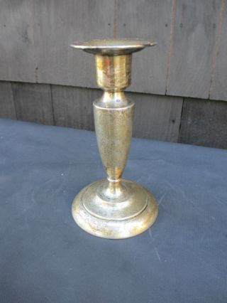 Sterling Silver Candlestick Udall & Ballou photo