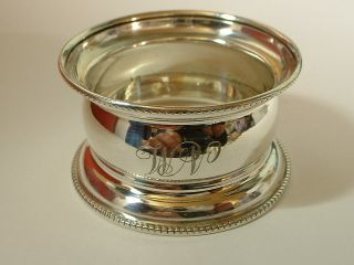 Lovely English Sterling Silver Napkin Ring For
