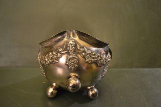 19 Th Century Satanic Silver Bowl Very Rare photo