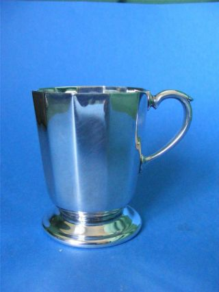 Silver Plated Vintage Mug By ' Armada ' : photo