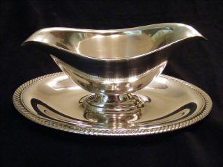 International Silver Silverplate Gravy Boat