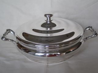 Reed & Barton Silver Plated Covered Serving Dish No.  765 photo