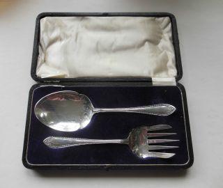 Edwardian - Art Nouveau - Silver Plate - Plated - Salad - Vegetable Servers - Wards Epns photo