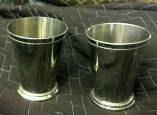 Pair Silverplate Min