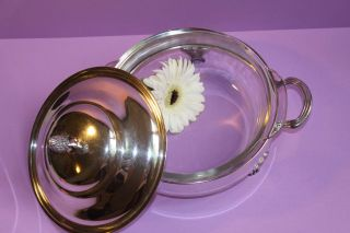 Vintage Magnificent Silverplate Covered Serving Dish/bowl - Footed - photo