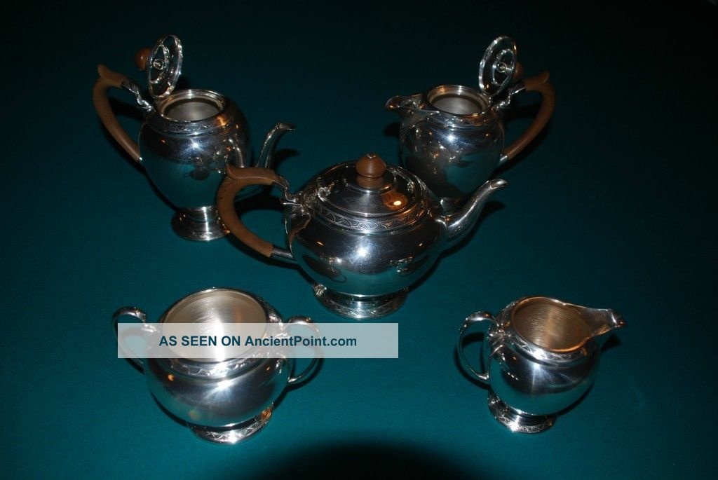 Mappin & Webb Sterling Tea Service United Kingdom photo