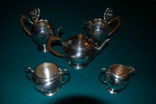 Mappin & Webb Sterling Tea Service photo