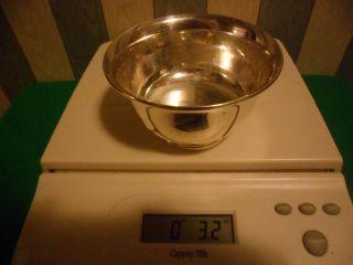 Garden Silversmiths Sterling Silver Bowl Dish 3.  2 Oz.  2.  9 Troy Ounces Not Scrap photo