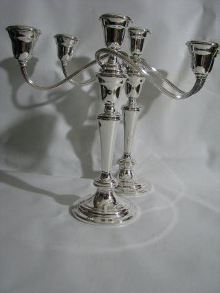 Gorham Yc3032 Pair Candelabra (4 Pieces) photo