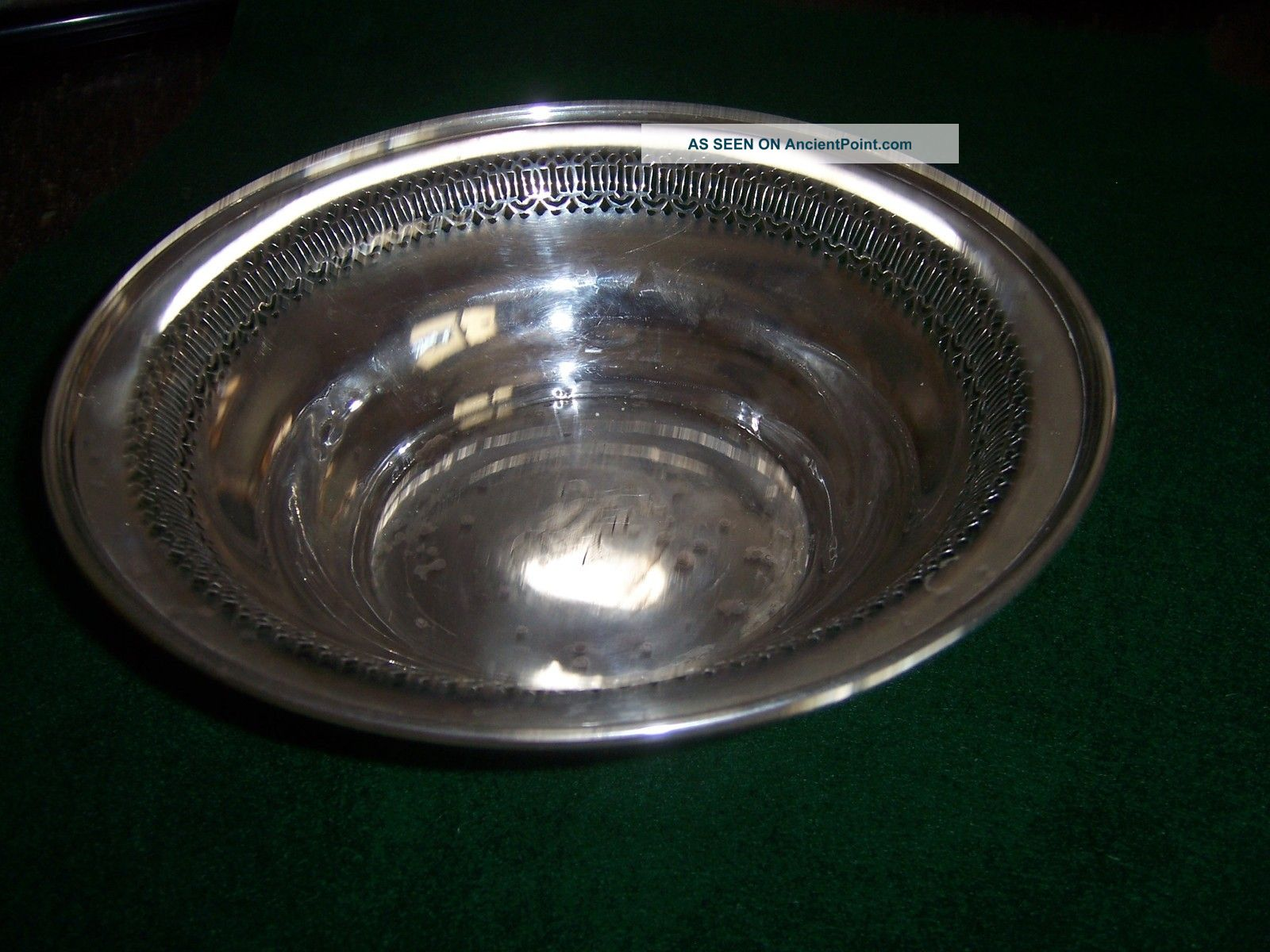 Sterling Silver Bowl 8 5/8